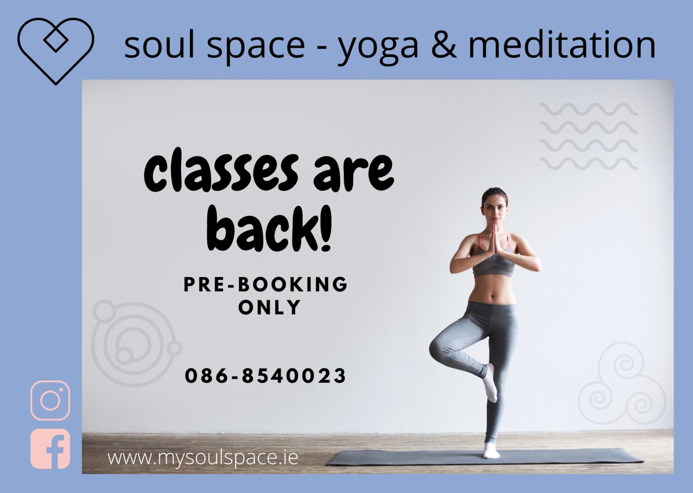 yoga classes are back